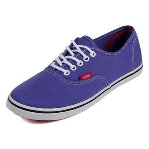 Purple Vans Lo Pros Women's 11